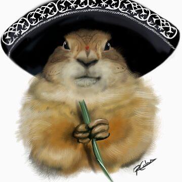 Dia de los Muertos - Prairie Dog by BuddyAvenue