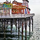 Brighton pier by Asrais