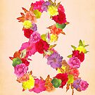 Flower Ampersand by sandra arduini