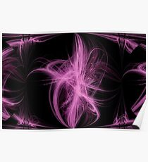 Abstract Flourishes Poster