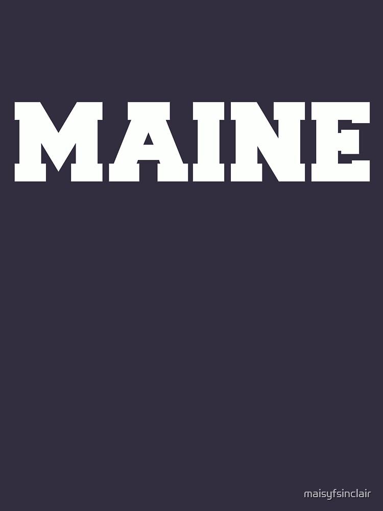 5ad4c4ac96c5 Calum Hood Maine T-shirt