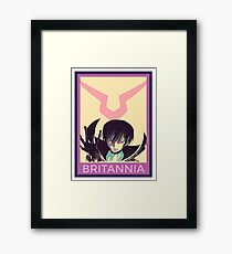 Britannia Framed Print