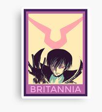 Britannia Canvas Print