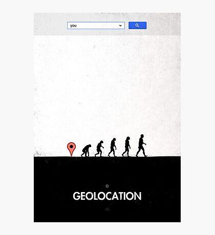 99 steps of progress - Geolocation Photographic Print