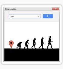 99 steps of progress - Geolocation Sticker