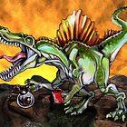 Caffeinosaurus II by Ellen Marcus