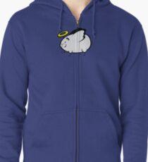 Heavenly Hamster Zipped Hoodie