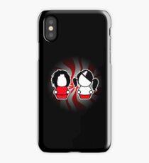 The White Stripes iPhone Case/Skin