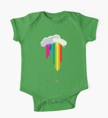 Raining Rainbows One Piece - Short Sleeve