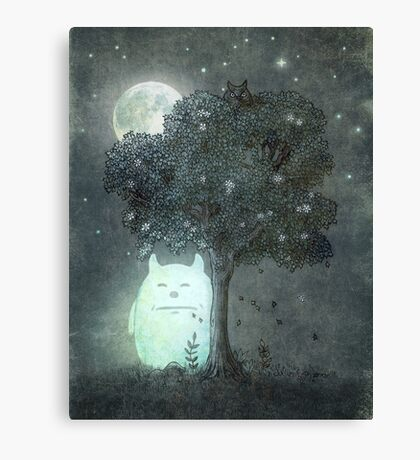 Full Moon Spirit  Canvas Print