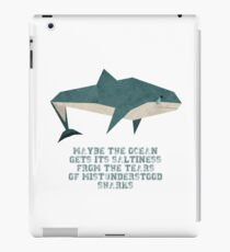 Traurige Haie iPad-Hülle & Klebefolie