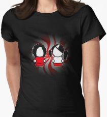 The White Stripes Women's Fitted T-Shirt