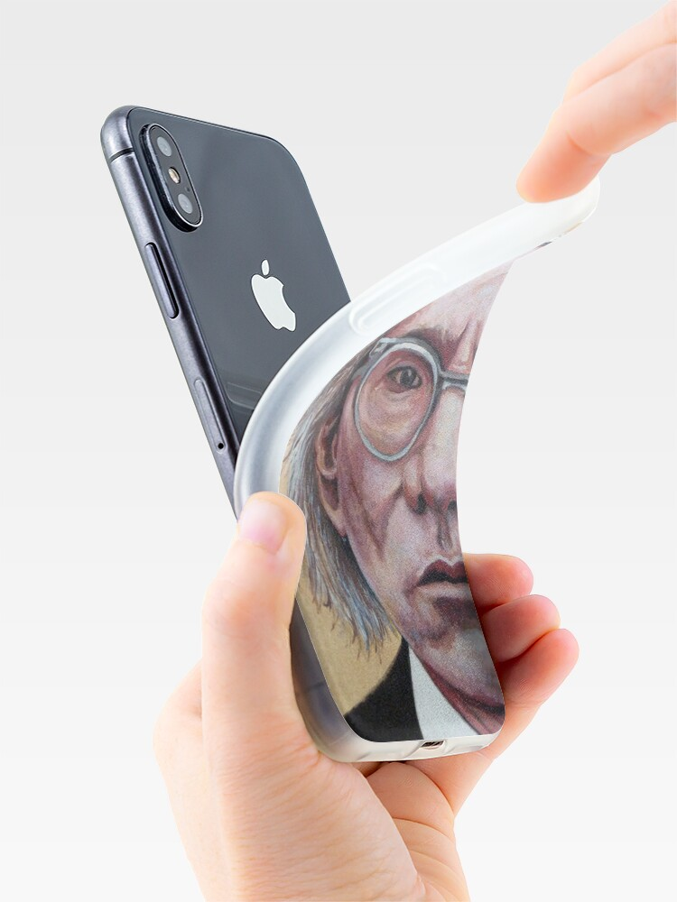 Alternate view of Mr. Warhol iPhone Case & Cover
