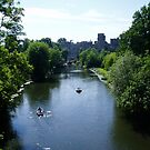 Warwick castle and the river Avon by Grace Johnson