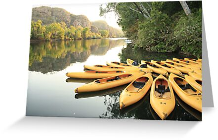 Early morning at Katherine Gorge by myraj