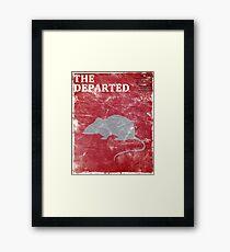 The Departed (Vintage) Framed Print