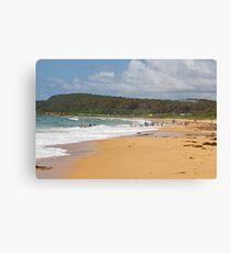 Shelly Beach Summer Canvas Print