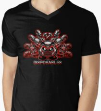 The Disposables Mens V-Neck T-Shirt