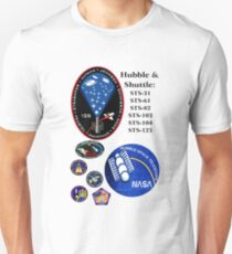STS-125: The HST-SM4 Mision Logo Unisex T-Shirt