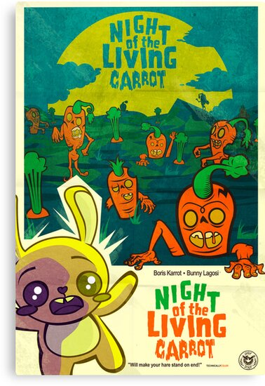 Night of the Living Carrot! by spicydonut