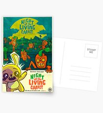 Night of the Living Carrot! Postcards