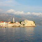 Old Town Budva in Montenegro by kirilart