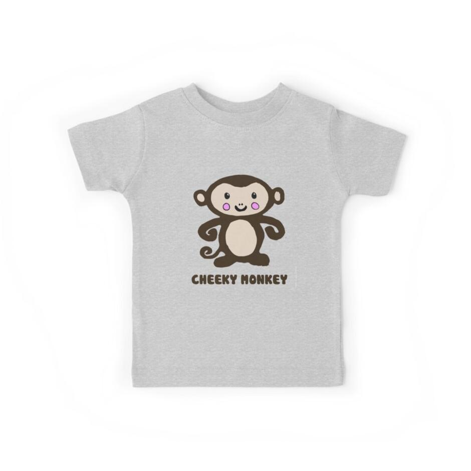 Cheeky Monkey by Zozzy-zebra