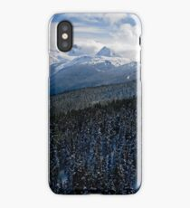 View from Whistler Mountain iPhone Case