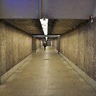 Dark corridor by Lukasz Godlewski