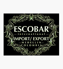 Escobar Import and Export White Sand Glow Photographic Print