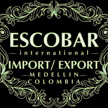 Escobar Import and Export White Sand Glow by Rickmans