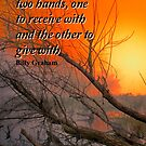 Hands to Give by Charles & Patricia   Harkins ~ Picture Oregon