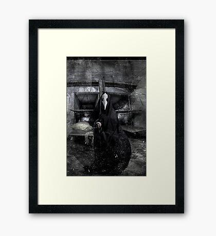 """""""Ego sum resurrectio"""" Framed Print"""