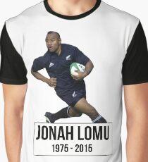 Jonah Lomu Graphic T-Shirt