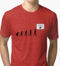 99 Steps of Progress - Instant network Tri-blend T-Shirt