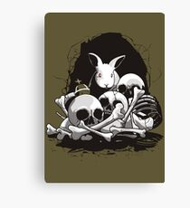 BEAST OF CAERBANNOG Canvas Print