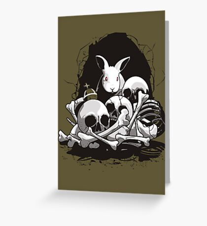 BEAST OF CAERBANNOG Greeting Card