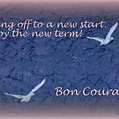 Happy New Term! by Angele Ann  Andrews