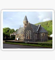 St.Modans Kirk , Benderloch , Scotland Sticker