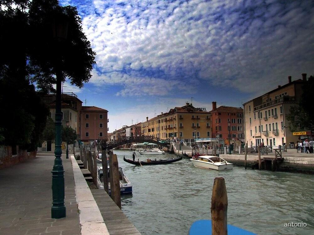 The Beauty of Venice by antonio