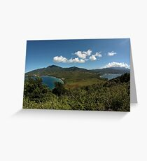Inner Cabrits and Portsmouth, Dominica Greeting Card