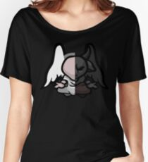 The Binding Of Isaac - Demon Angel Statue Women's Relaxed Fit T-Shirt