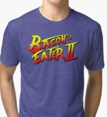 Bacon Eater II  Tri-blend T-Shirt