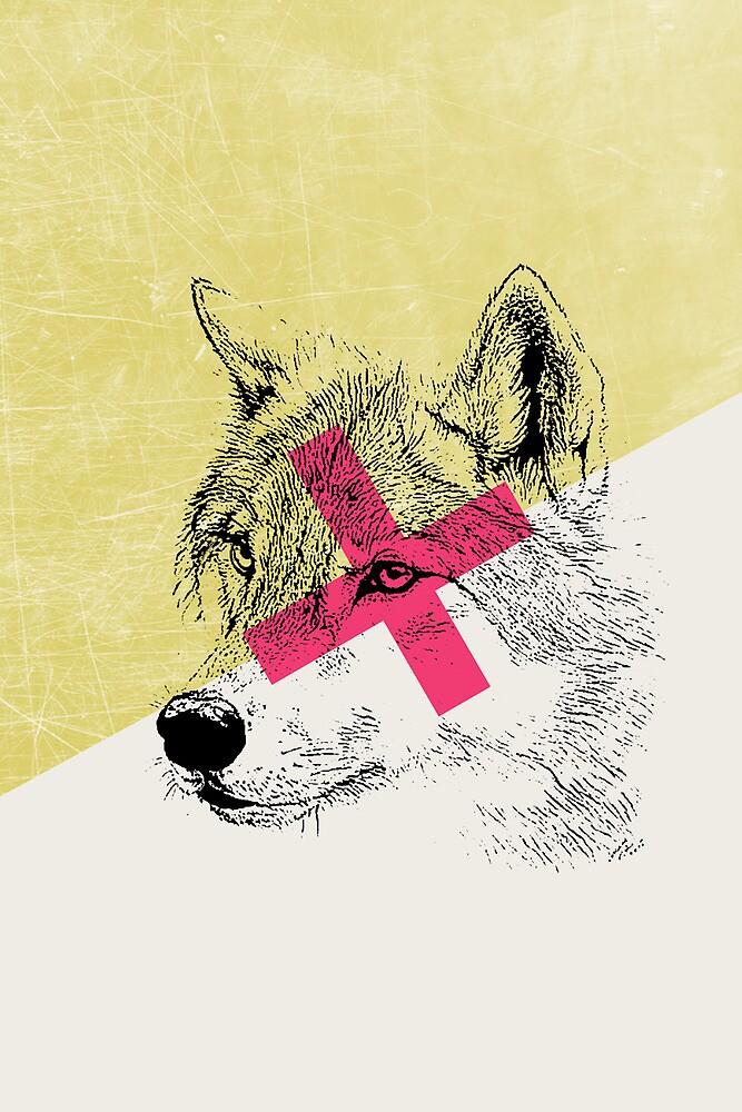 Techno Wolf by Zeke Tucker