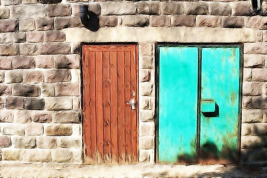 Doors abstract by swcphotography