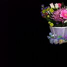Cuppa Posies by ArtBee
