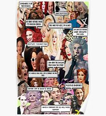 Jinkx Monsoon & Max Malanaphy Collage Poster