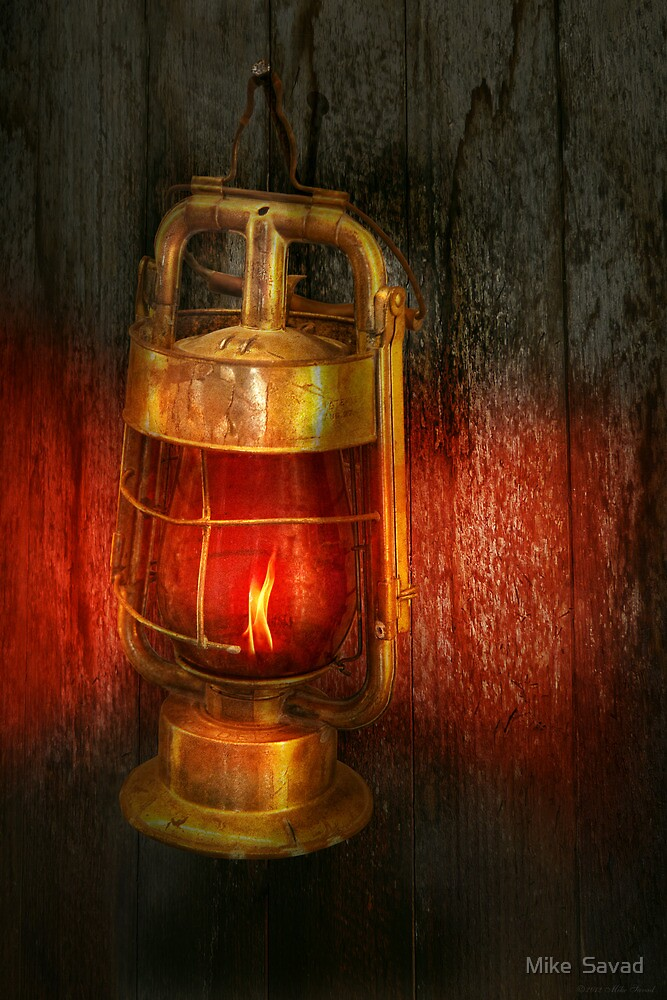 Steampunk - Red light district by Mike  Savad
