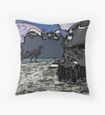 Let the end begin. Throw Pillow