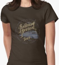 Railroad Revival contest entry Women's Fitted T-Shirt